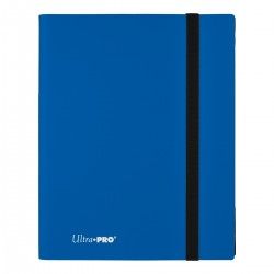 Portfolio - 9 Pocket - 20 Pages - Pro Binder - Ultra Pro - Pacific Blue