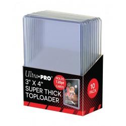 10 Super Thick 120PT Toploader - Ultra Pro