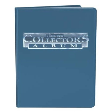 Portfolio - 9 Pocket - 10 Pages - Collectors Porfolio - Ultra Pro - Blue