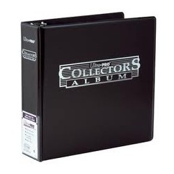 Binder - 3 Rings - Collectors Album - Ultra Pro - Black