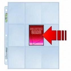 100 Pages for Album Ultra Pro Platinum Side Load - 9 Pocket Standard - 3 Holes