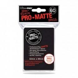 60 Sleeves Small Pro-Matte - Ultra Pro - Black