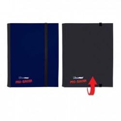 Portfolio - 4 Pocket - 20 Pages - Pro Binder Flip - Ultra Pro - Blue & Black