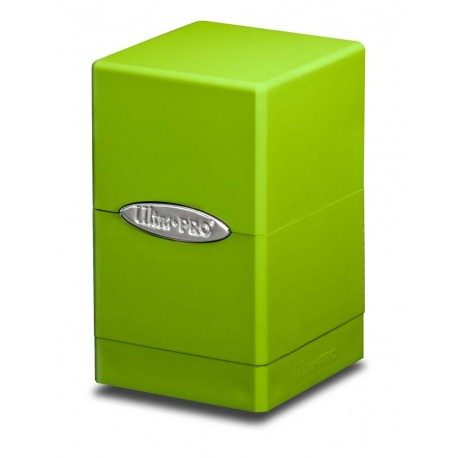 Deck Box Satin Tower - Ultra Pro - Lime Green