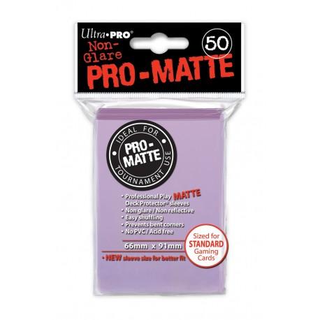 50 Bustine Protettive Standard Pro Matte - Ultra Pro - Lilla