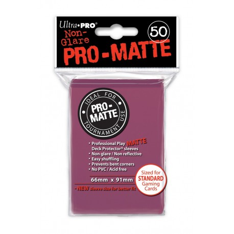 50 Bustine Protettive Standard Pro Matte - Ultra Pro - Mora