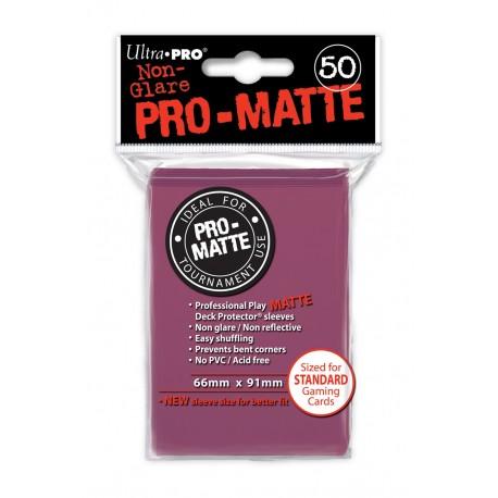 50 Sleeves Standard Pro-Matte - Ultra Pro - Blackberry