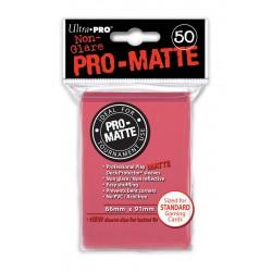 50 Sleeves Standard Pro-Matte - Ultra Pro - Fuchsia