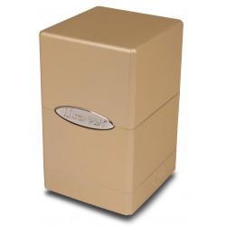 Deck Box Satin Tower - Ultra Pro - Metallic Caramel