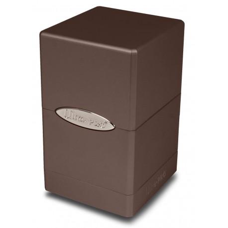 Deck Box Satin Tower - Ultra Pro - Metallic Chocolate