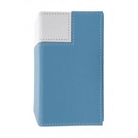 Porta Mazzo M2 Deck Box - Ultra Pro - Blu Chiaro e Bianco - Artic Frost