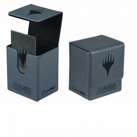 Porta Mazzo Premium Flip Box - Ultra Pro - Planeswalker - Grigio