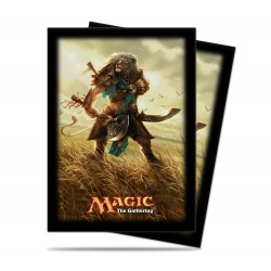 80 Bustine Protettive Standard - Ultra Pro - Magic The Gathering - Journey into Nyx - Ajani