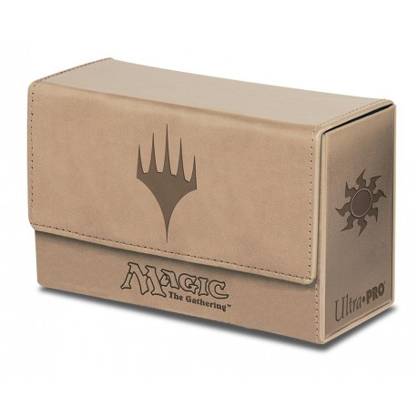 Porta Mazzo Premium Dual Flip Box - Ultra Pro - Planeswalker - White Mana