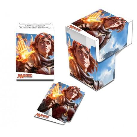 Porta Mazzo Deck Box - Ultra Pro - Magic The Gathering - Oath of the Gatewatch - Oath of Chandra