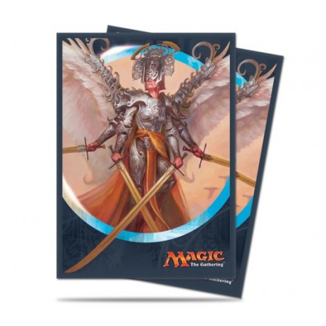 80 Sleeves Standard - Ultra Pro - Magic The Gathering - Kaladesh - Angel of Invention