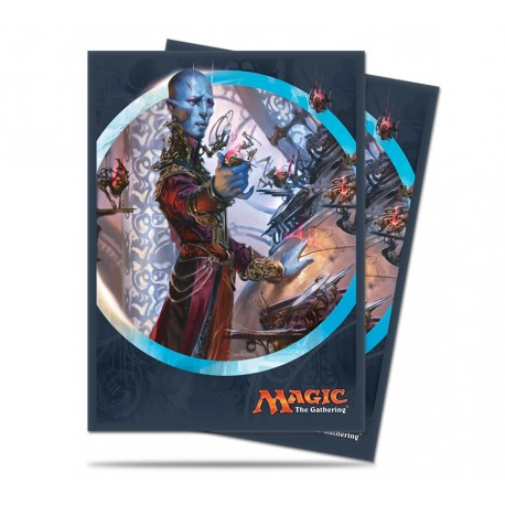 80 Bustine Protettive Standard - Ultra Pro - Magic The Gathering - Kaladesh - Dovin Baan