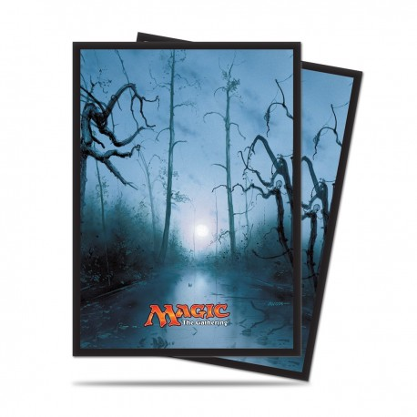80 Sleeves Standard - Ultra Pro - Magic The Gathering - Mana 5 - Swamp