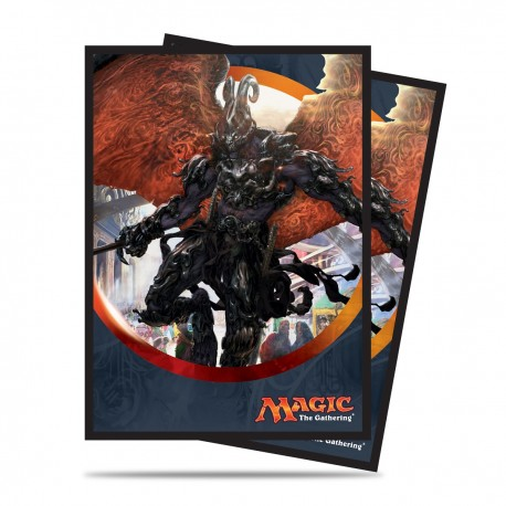 80 Bustine Protettive Standard - Ultra Pro - Magic The Gathering - Aether Revolt - Herald of Anguish