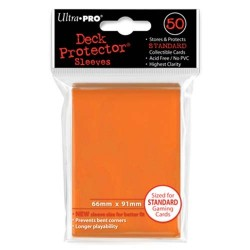 50 Sleeves Standard - Ultra Pro - Orange
