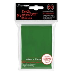 50 Sleeves Standard - Ultra Pro - Green