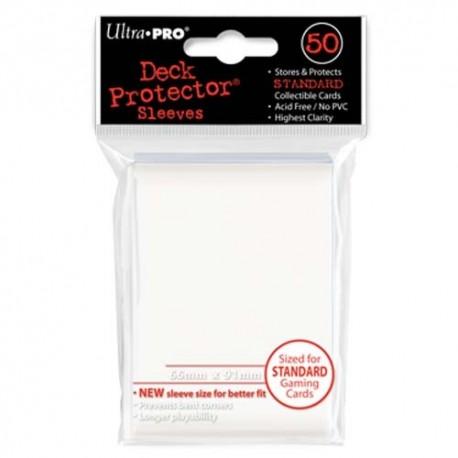 50 Bustine Protettive Standard - Ultra Pro - Bianco