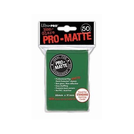 50 Sleeves Pro-Matte - Ultra Pro - Green