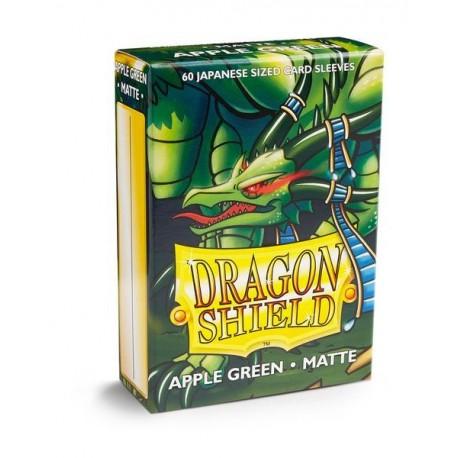 60 Sleeves Small Matte - Dragon Shield - Apple Green
