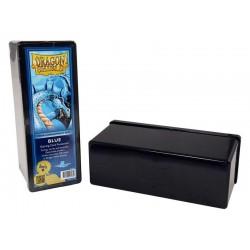 Scatola Rigida Porta Carte - 4 Compartimenti - Dragon Shield - Blu