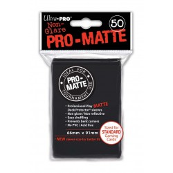 50 Sleeves Pro-Matte - Ultra Pro - Black