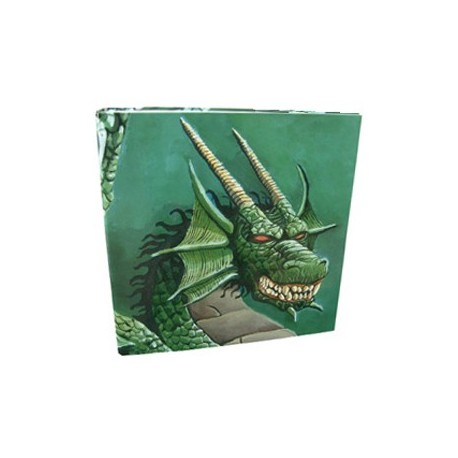 Binder Collectors Album - Dragon Shield - Green