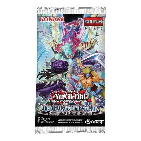Booster of 5 Cards - Dimensional Guardians ITA - Yu-Gi-Oh - 1st Edition