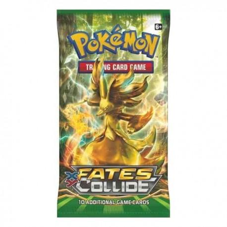 Busta da 10 Carte - XY - Destini Incrociati ENG - Pokemon