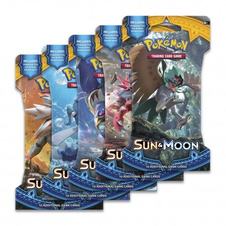 Blister da 10 Carte - Sole & Luna Guardiani Nascenti - ENG - Pokemon