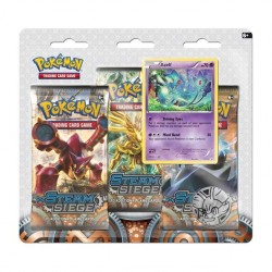 Blister of 3 Boosters of 10 Cards - Steam Siege - ENG - Pokemon