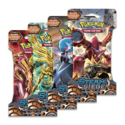 Blister of 10 Cards - Steam Siege - ENG - Pokemon