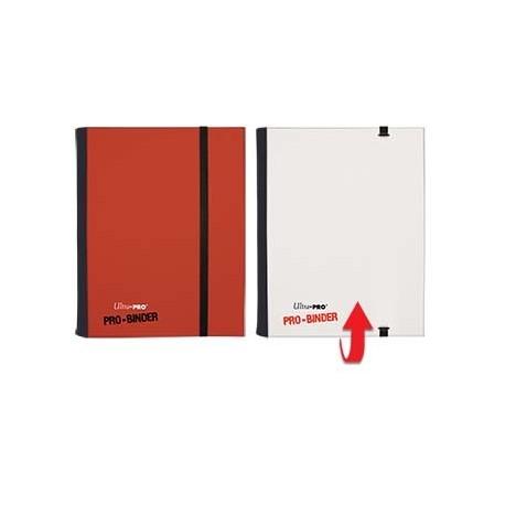 Portfolio - 4 Tasche - 20 Pagine - Pro Binder Flip - Ultra Pro - Rosso & Bianco