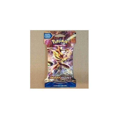 Blister da 10 Carte - Turbocrash - ENG - Pokemon