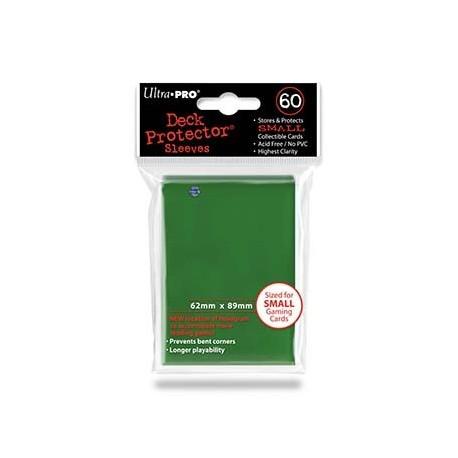 60 Bustine Protettive Small - Ultra Pro - Verde