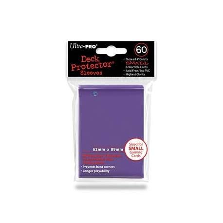 60 Sleeves Small - Ultra Pro - Purple