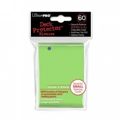 60 Sleeves Small - Ultra Pro - Lime Green