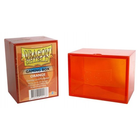 Deck Box Gaming Box - Dragon Shield - Orange