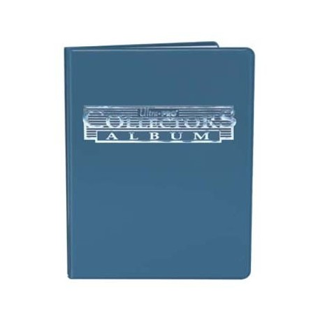 Portfolio - 4 Pocket - Ultra Pro - Collectors Album - Blue
