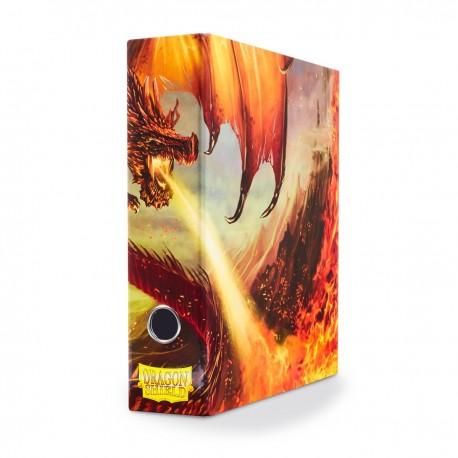 Raccoglitore Slipcase - Dragon Shield - Rosso Char