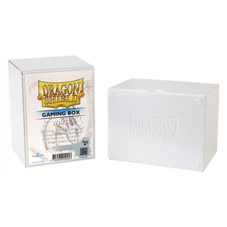 Porta Mazzo Gaming Box - Dragon Shield - Bianco
