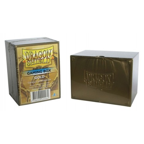Deck Box Gaming Box - Dragon Shield - Gold