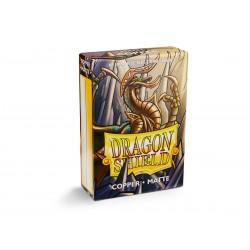 60 Sleeves Small Matte - Dragon Shield - Copper