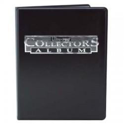 Portfolio - 9 Pocket - 10 Pages - Collectors Porfolio - Ultra Pro - Black