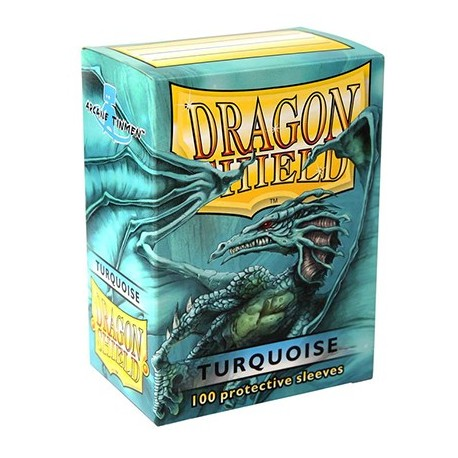 100 Sleeves Standard - Dragon Shield - Turquoise