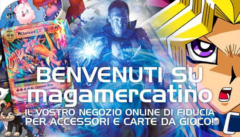 Benvenuti su MagaMercatino, il vostro online di Fiducia per Accessori e Carte da Gioco!